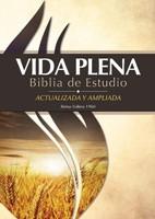 RVR 1960 Biblia De Estudio Vida Plena