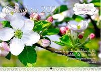 Calendario De Pared Nuestro Pan Diario 2021