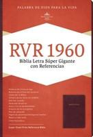 RVR 1960 Biblia Letra Súper Gigante con Índice