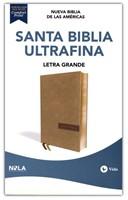 NBLA Biblia Ultrafina Letra Gigante Beige