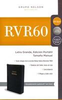RVR60 Biblia Edición Portátil Con Zipper