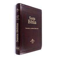 RVR60 SBU Biblia Letra Gigante y Corcondancia Palabras De Jesús En Rojo