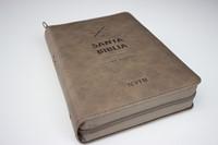 Biblia NVI Letra Grande Con Zipper