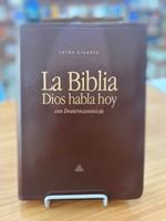 DHH Biblia de Letra Gigante con Deuterocanónicos