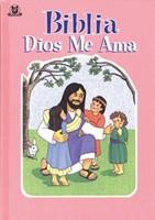 Biblia Dios Me Ama - Rosada