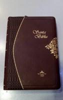 Biblia Ultrafina Bordó Con Cierre