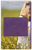 RVR 1960 Biblia Mujer de hoy (Piel especial Púrpura)