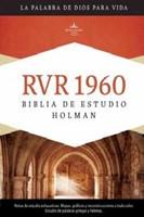 RVR 1960 Biblia de Estudio Holman (Tapa Dura Negra)