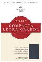 RVR 1960 Biblia Compacta Letra Grande con Referencias (Imitación Piel zafiro azul)