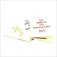 La Biblia En Miniatura RVA (Dorada)