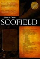 RVR1960 Biblia de Estudio Scofield (Imitación Símil Piel Marrón Oscuro)