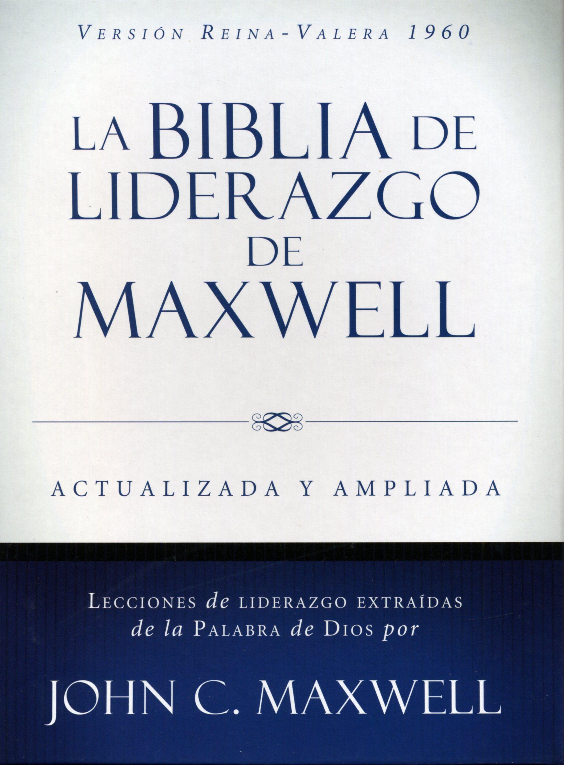 RVR 1960 Biblia de Liderazgo de Maxwell