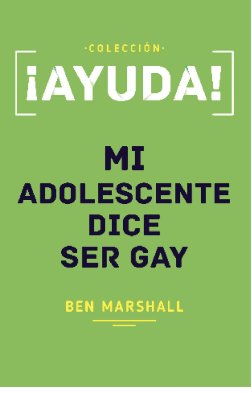 Ayuda! Mi Adolescente Dice Ser Gay
