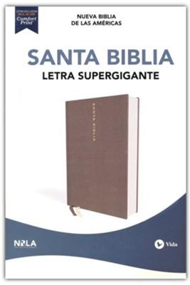 NBLA Biblia Letra Super Gigante Edición Letra Roja