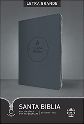 RVR 1960 Biblia Edición Zíper Letra Grande