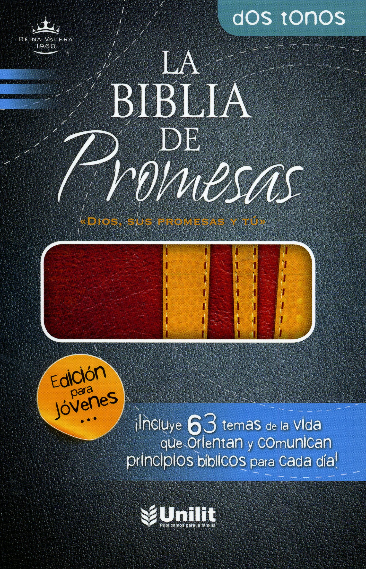 RV1960 Biblia De Promesa Juvenil