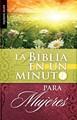 Biblia en un minuto para Mujeres (Rustica)