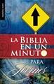 La Biblia en un Minuto para Jóvenes (Rústica) [Libro de Bolsillo]
